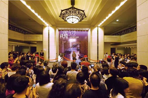 展覧会レポート「水辺詩情世界 孫 家珮作品展」 於:上海美術館(中国上海市)