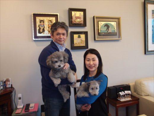 野田努さん、佳代さんご夫妻