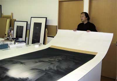 Artist Interview アーティスト・インタビュー(2007年7月)山水行 行山水 ~呉 一騏の世界 ~
