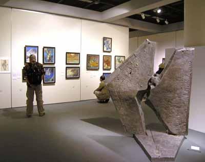 注目の美術展 『怪獣と美術』 ― 成田亨の造形芸術とその後の怪獣美術 ―  2007/9/8 ~ 10/21   於:三鷹市美術ギャラリー